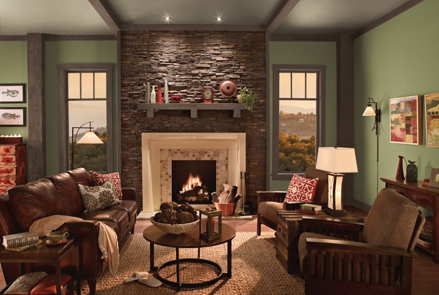 Best 13 Bold Paint Colors You Need To Know About Family Room 400 x 300