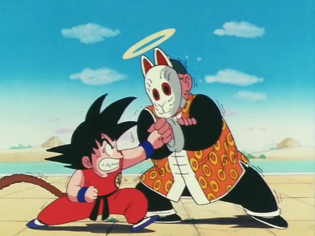 Goku vs Son Gohan