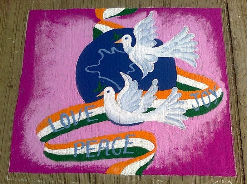 Rangoli Designs For Independence Day Rangoli With Images
