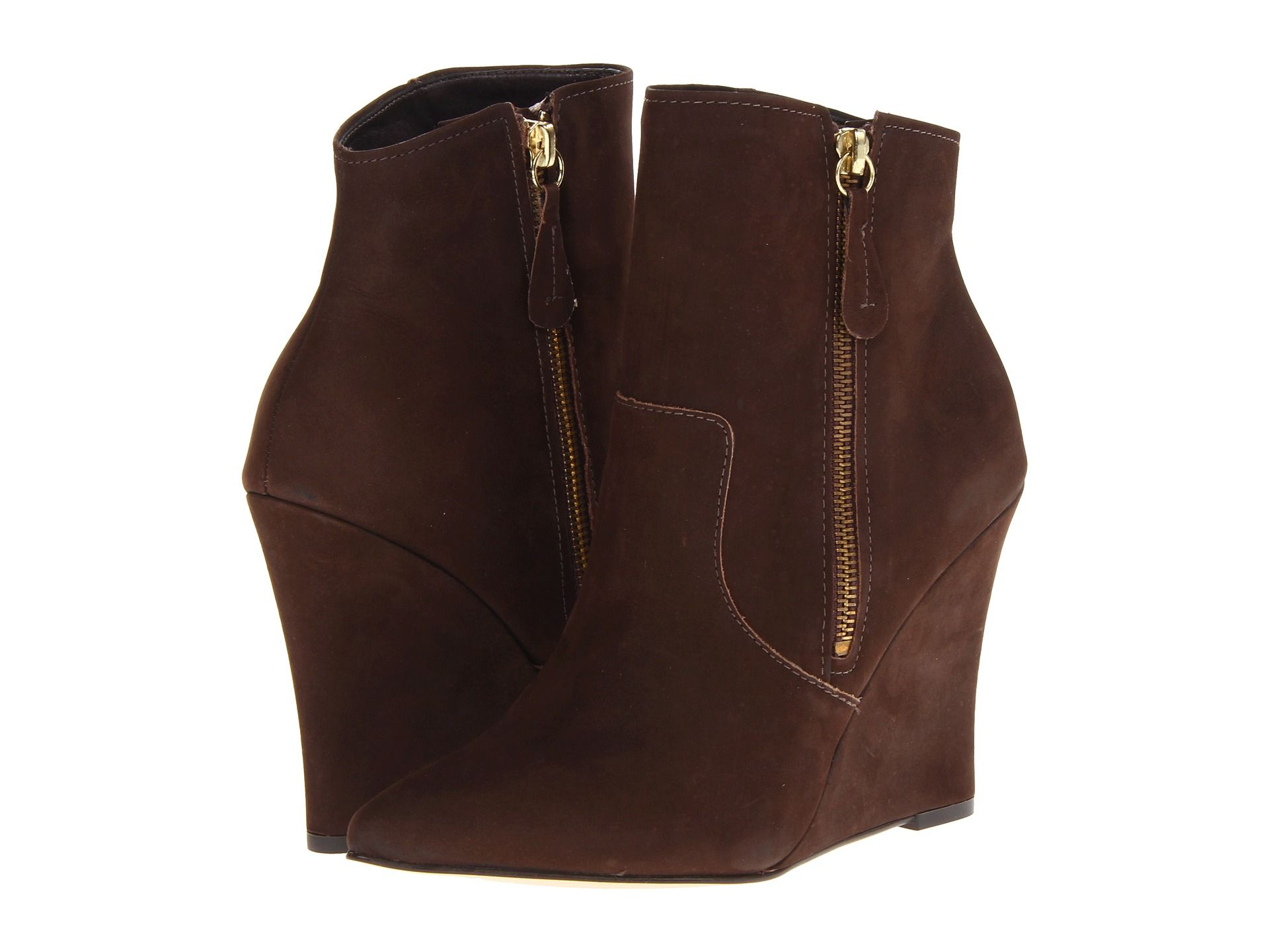 On Sale for 44% OFF Steve Madden Shoes in Steven Meter #booties #brown #sale #freeshipping