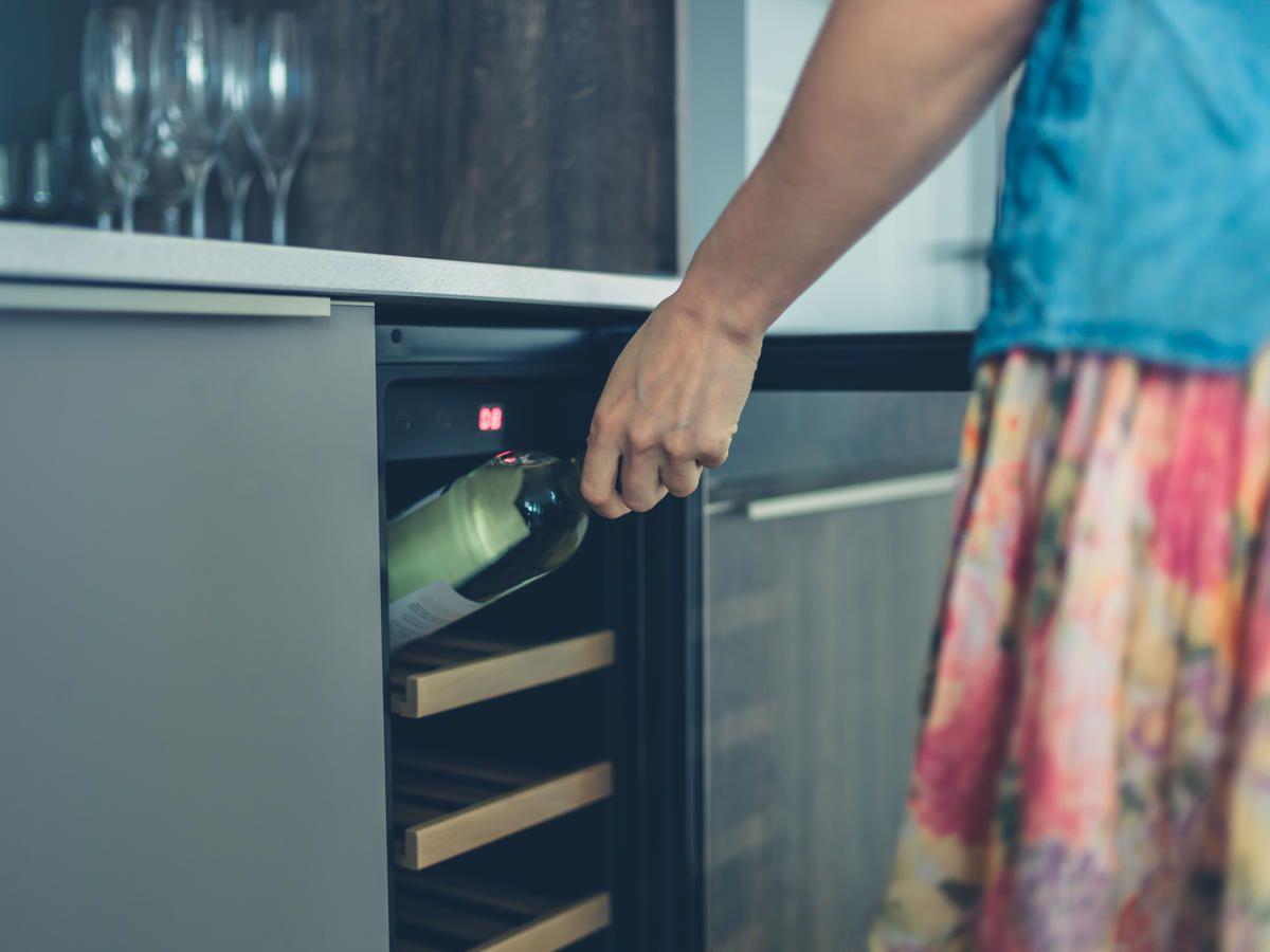 kitchenaid beverage center not cooling