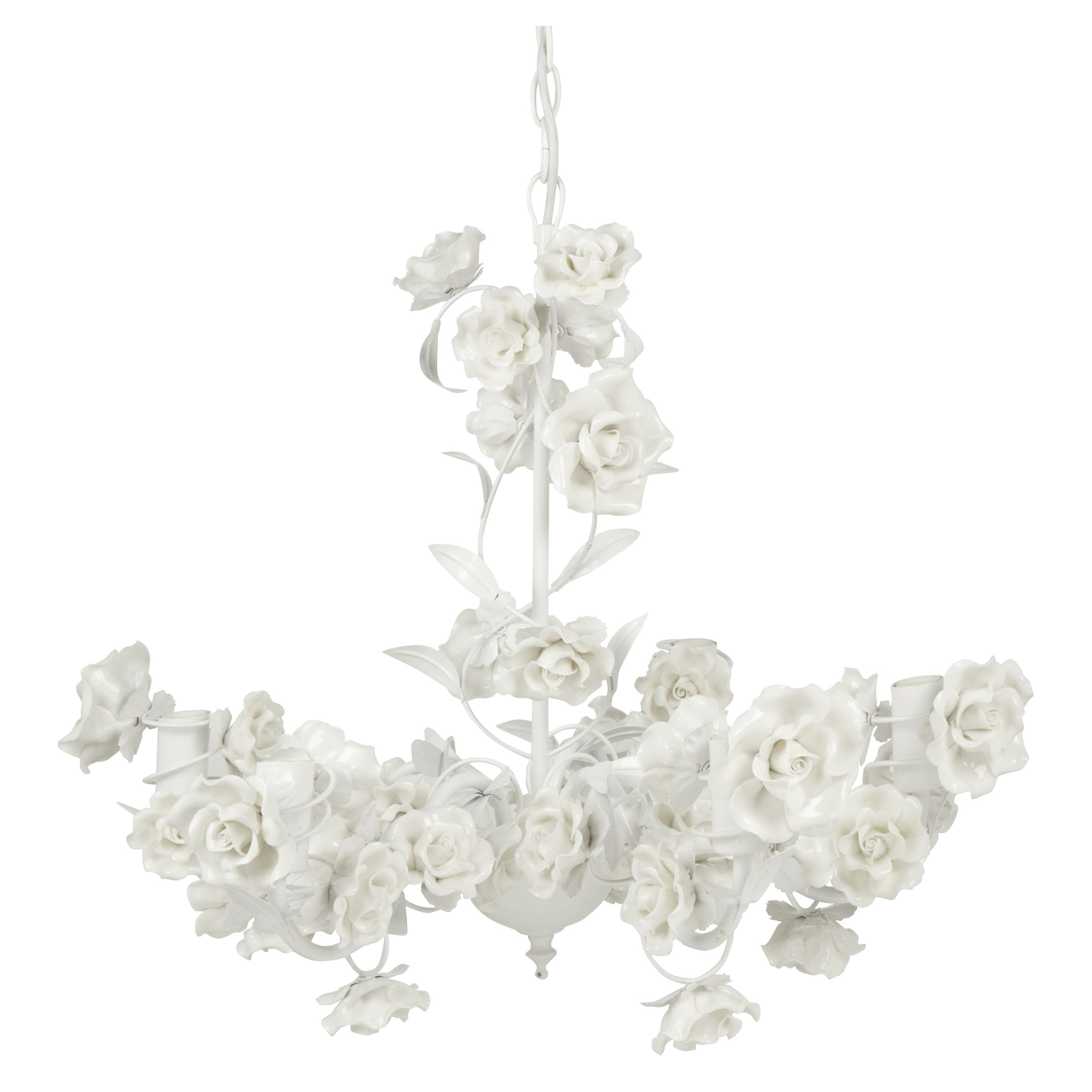 Lauraashleyss14 rose chandelier i am saving hard to buy this to go primrose chandelier in white with porcelain flowers from laura ashley arubaitofo Gallery