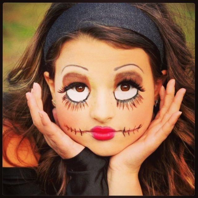 Creepy Doll Halloween Creepydoll Creepy Doll Halloween Face Painting Halloween Halloween Makeup Looks