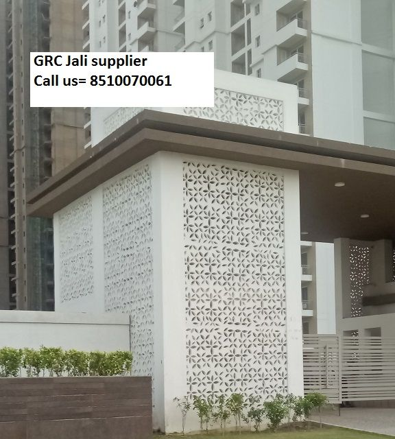 Stone Jali Elevation : Grc jali facade exterior cladding suppliers cochin chennai