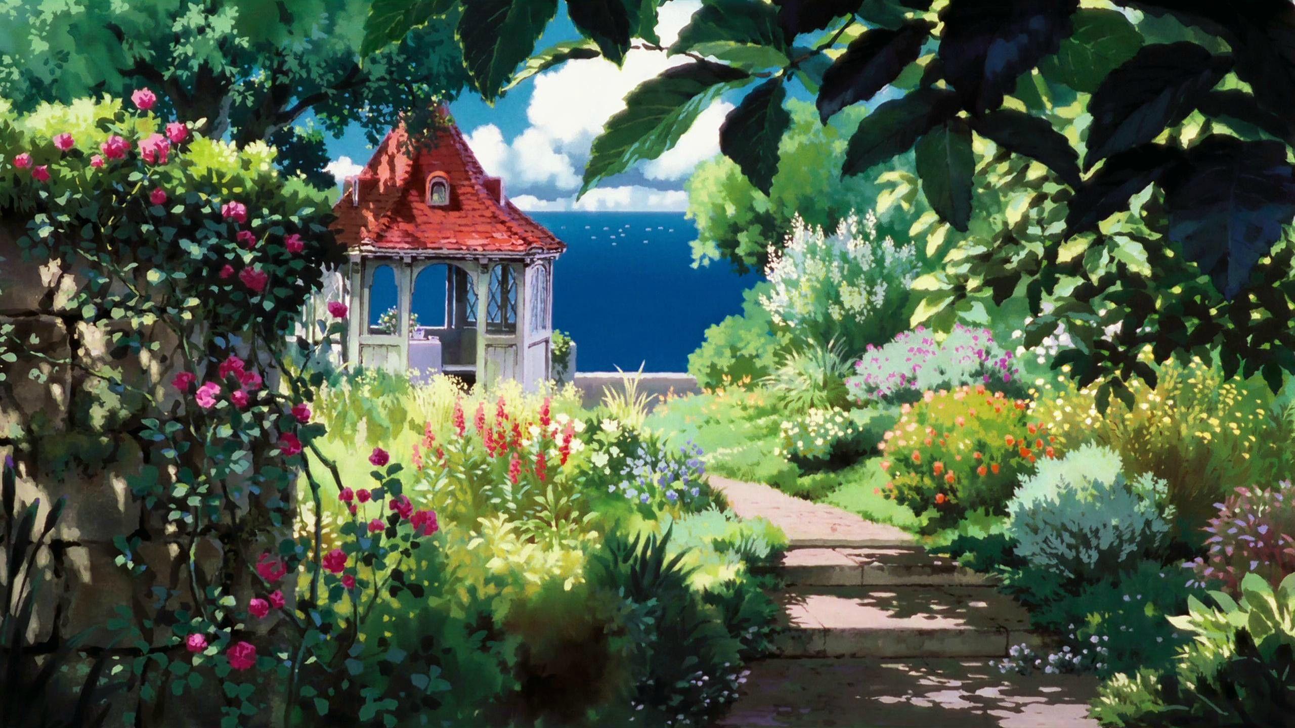 Studio Ghibli Backgrounds In 2019 Anime & Game Scenery
