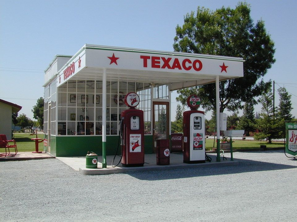 vintage gas station interiors - Google Search