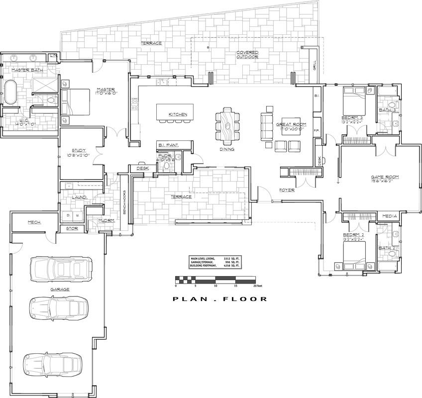 1st Floor Plan Image Of The Matrix: Like The Split