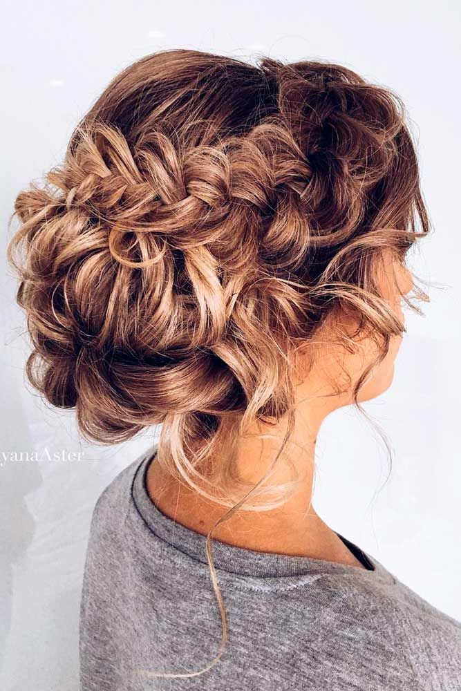 33 Chic Updo Hairstyles For Bridesmaids Updo Hair Style And