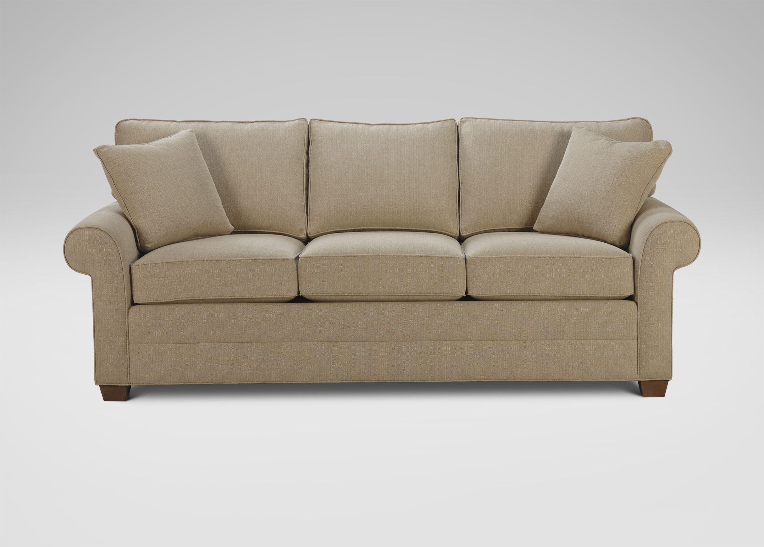 Bennett RollArm Sofa CaymanGrain Ethan Allen Living Room - Ethan allen chadwick sofa