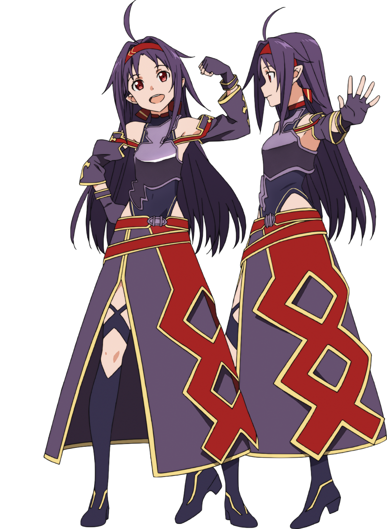 Yuuki Konno  Reference Sheets Sao  Sword Art Online -7756