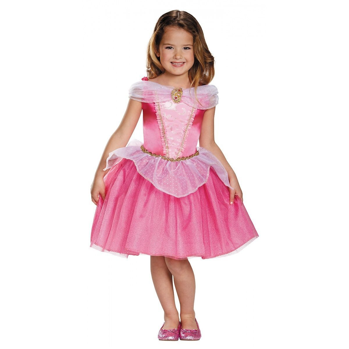 9049207e0 Sleeping Beauty Costume Kids Disney Princess Aurora Halloween Fancy Dress Up