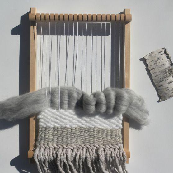 tuto tissage woodhappen weaving pinterest bricolage. Black Bedroom Furniture Sets. Home Design Ideas