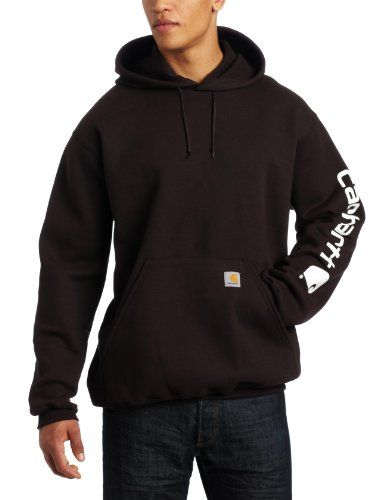 bd413b4e0 Sexy...Carhartt Men's Midweight Hooded Logo-Sleeve Sweatshirt $42.40 ...