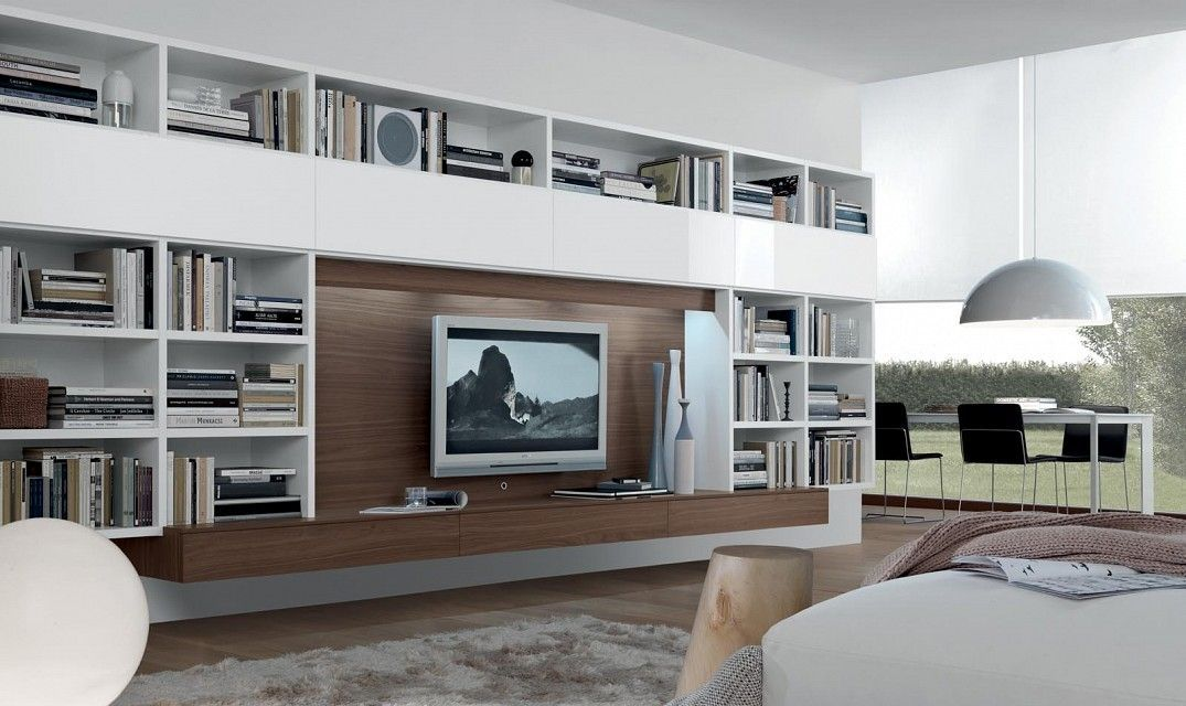contemporary TV wall unit OPEN JESSE contemporary