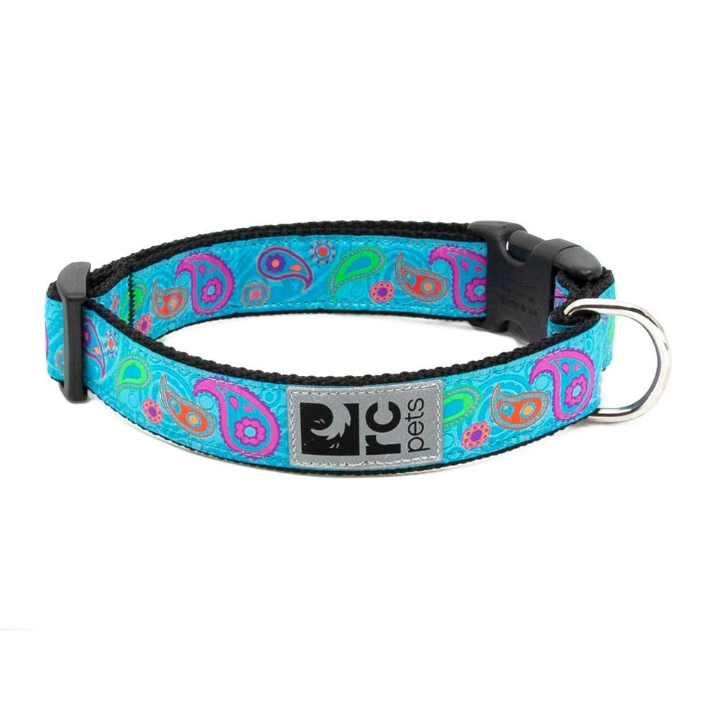 Tropical Paisley Adjustable Clip Dog Collar By Rc Pets Cat Accessories Dog Accessories Dogs