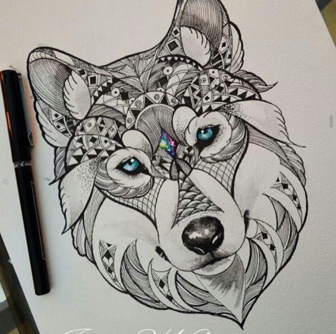 pin de joan cruz en tatto galery pinterest tatouage loup dessin tatouage y tatouage. Black Bedroom Furniture Sets. Home Design Ideas