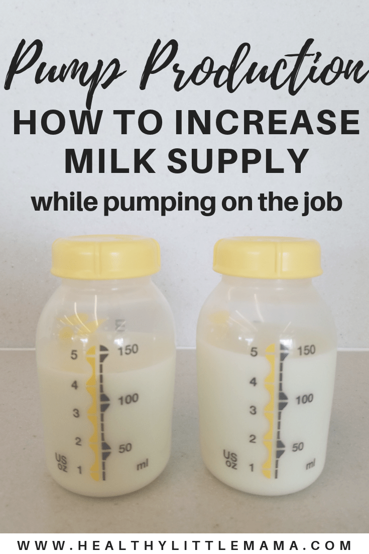 Increasing Your Pump Production At Work  Pregnancy  Low -8518