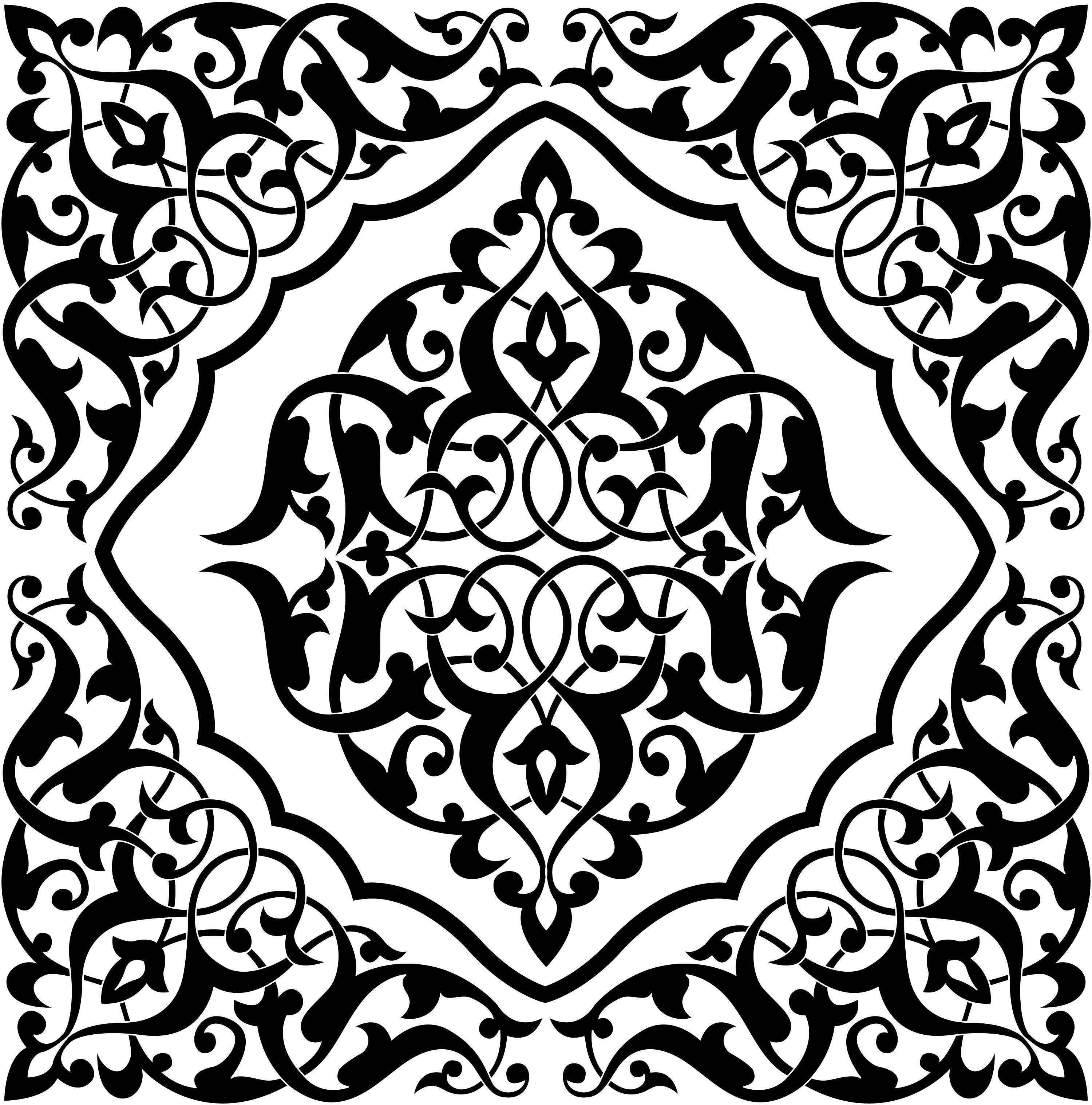 Invitation Mock Ups Arabic Pattern Islamic Art Pattern Art
