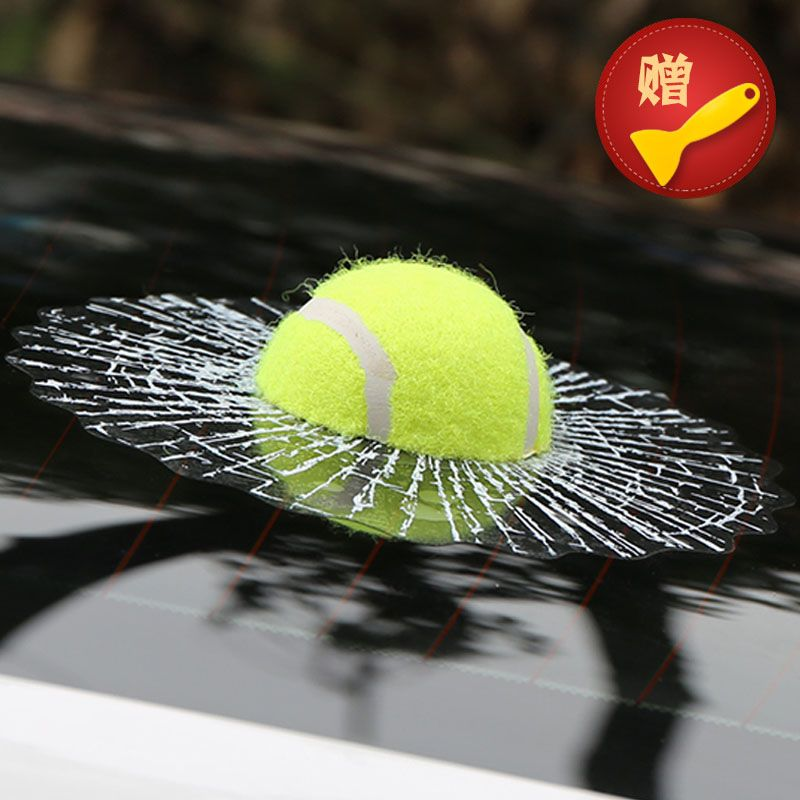 ETIE Car Styling Baseball Funny Car Stickers And Decals Tennis - Funny decal stickers for carssticker car window picture more detailed picture about funny car