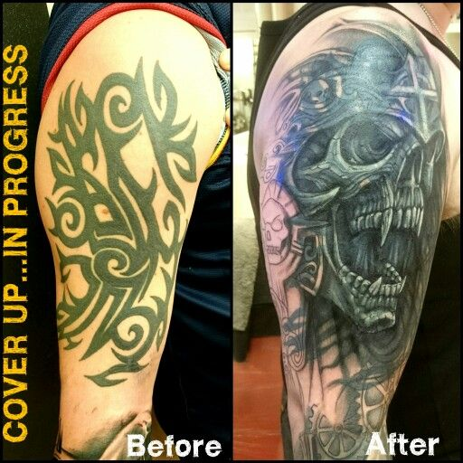 Cover Up Cover Up Tattoos Cover Tattoo Tribal Tattoo Cover Up