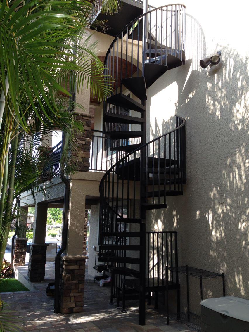 Best Decorative Aluminum Spiral Spiral Stairs Stairs Decor 640 x 480