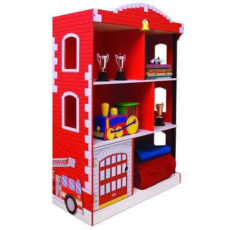 kidkraft firehouse bookcase walmart com boy s room pinterest rh pinterest com