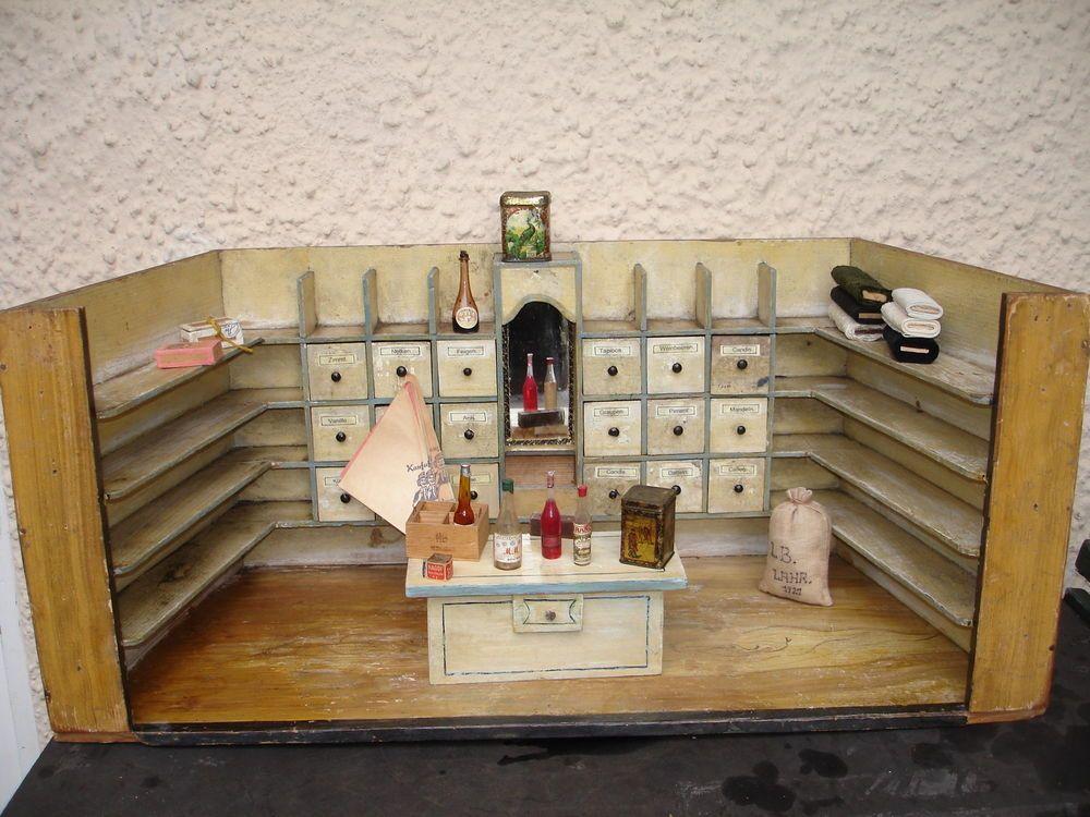 Kaufladen Carl Gross vor 1900 Kaufladen Carl
