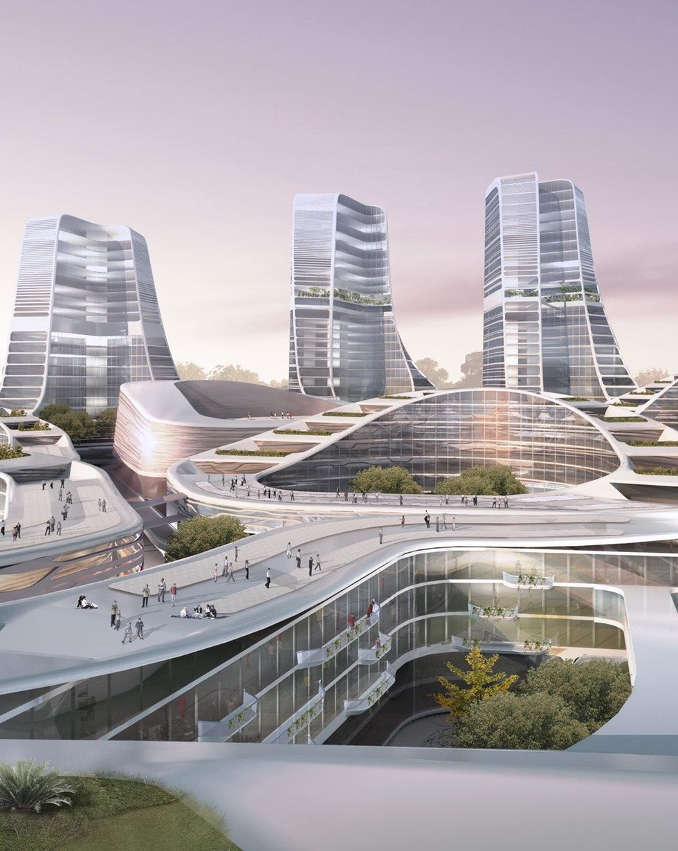 International Investment Square | UNStudio | Archello | Urban design plan,  Futuristic architecture, Facade architecture