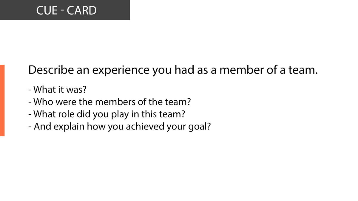 Ielts Speaking An Experience You Had As A Member Of A Team Ielts Teams Members