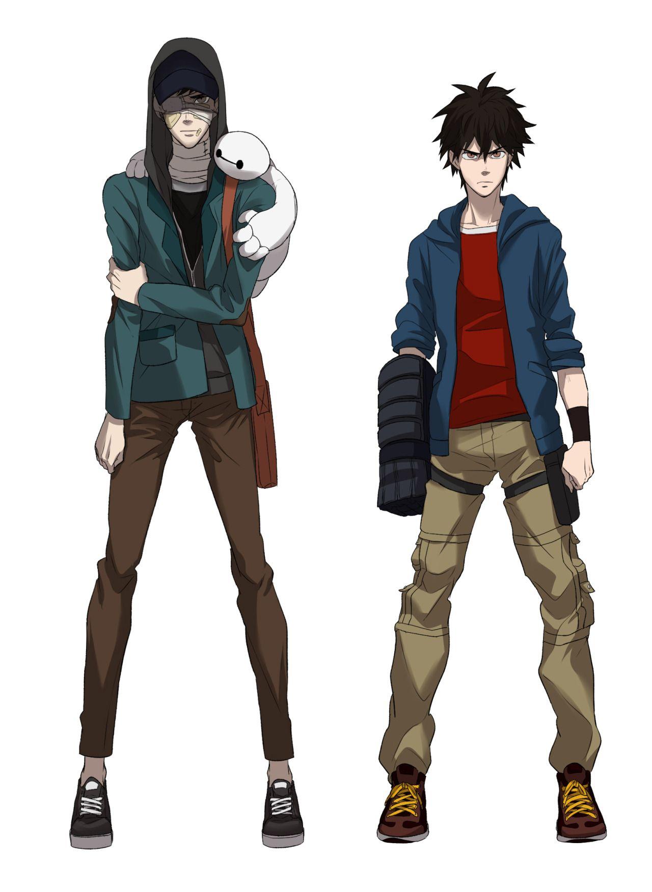 Tadashi, Hiro, And Baymax  Big Hero 6, Big Hero 6 Tadashi -3911
