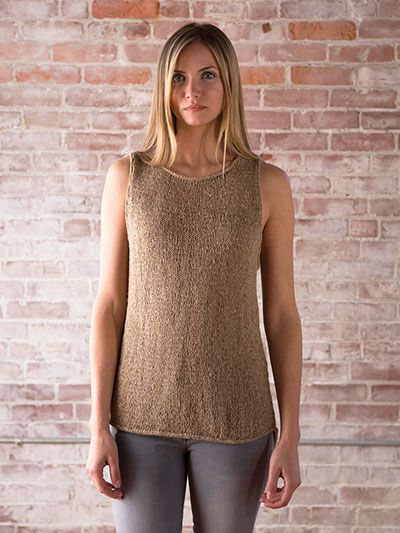 c326ccadd0b4 Pin by Annie s Catalog on Knit Tank