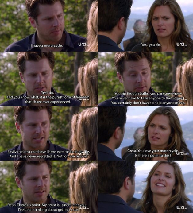 Psych quote of Shawn and Juliet. They are so cute together