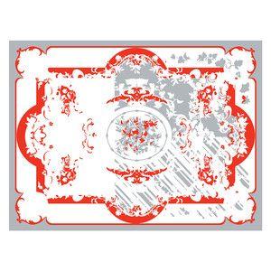 Teppich 240x180 Grau-Koralle, 1.999€, jetzt auf Fab.