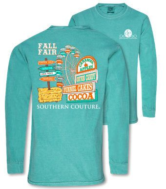 Southern Couture Like Simply Southern Comfort Colors Fall Fair