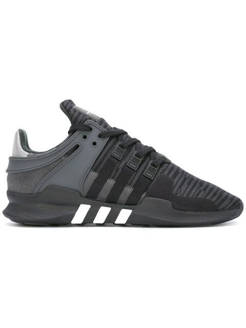 Shop Adidas EQT Support ADV sneakers. | Black leather shoes
