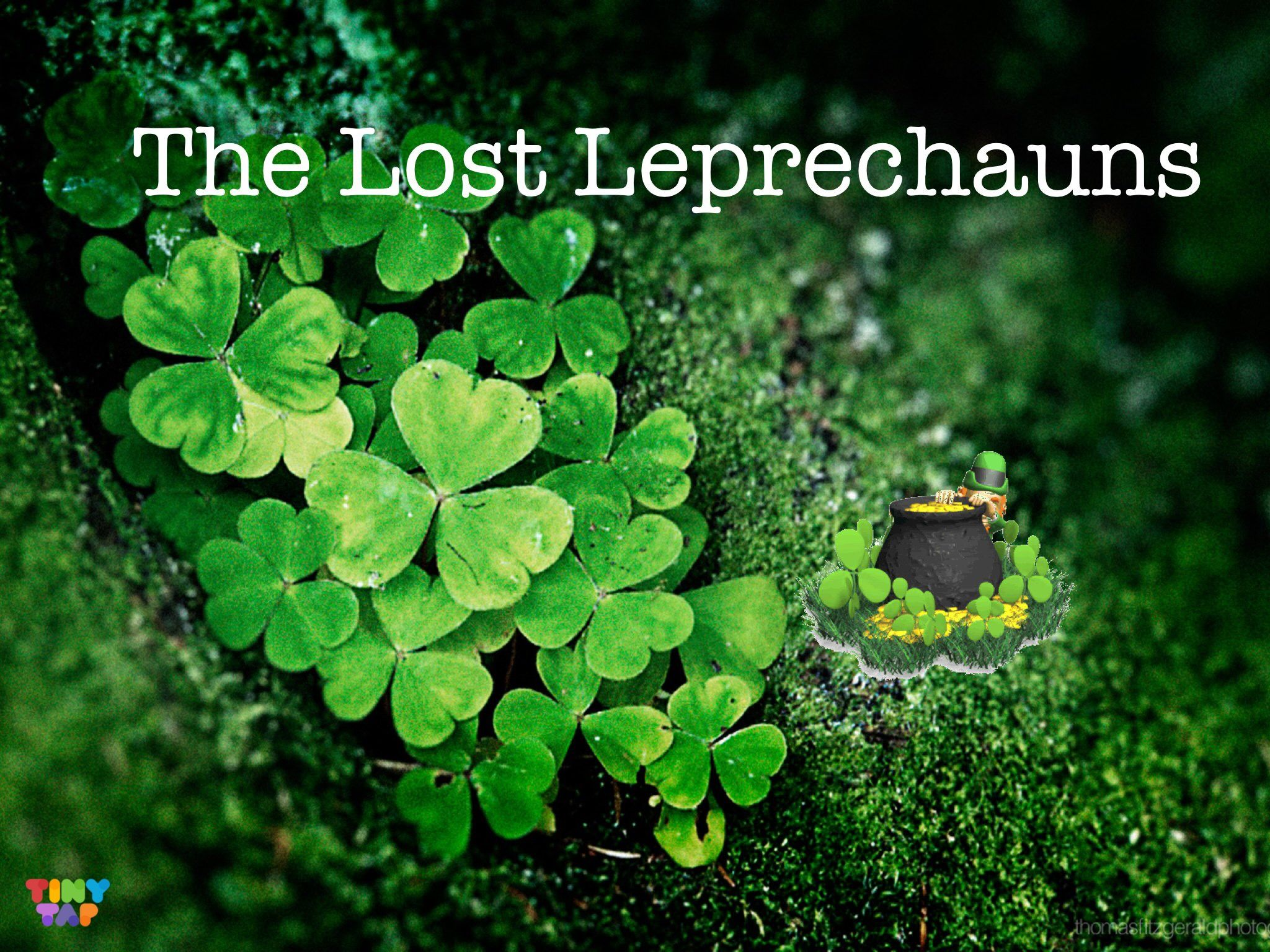 Prepositions For Spatial Concepts With A Leprechaun Theme