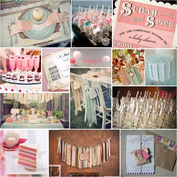 Pretty Parties Sugar And Spice Girls Baby Shower K2s Bday Ideas