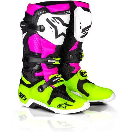 Alpinestars Tech 10 Boots A1 Radiant Le Mx Boots Racing Boots