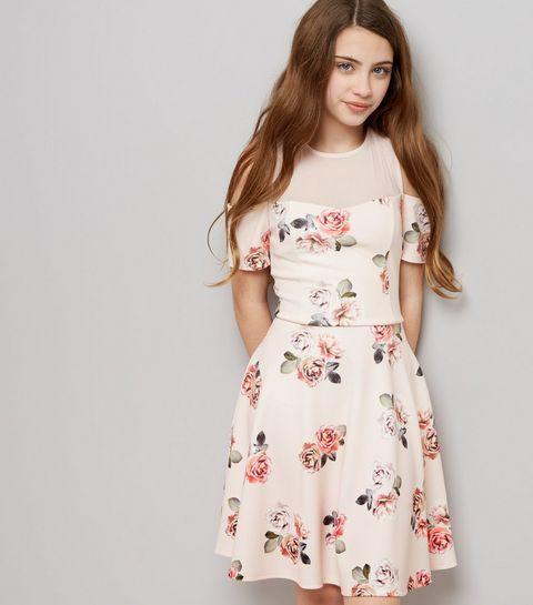 teen dresses pink