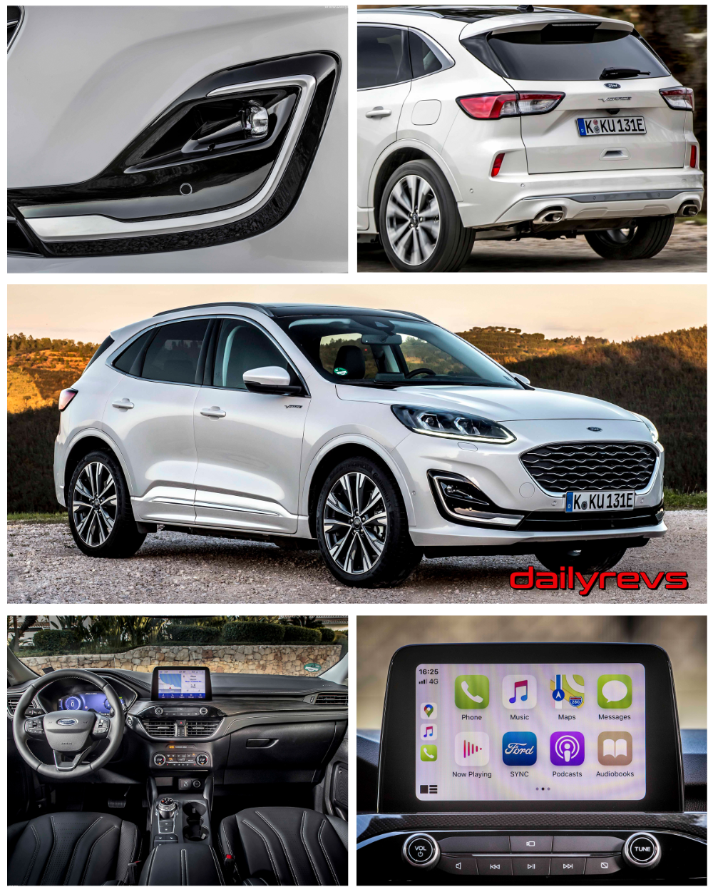 2020 Ford Kuga Vignale PHEV in 2020 Ford