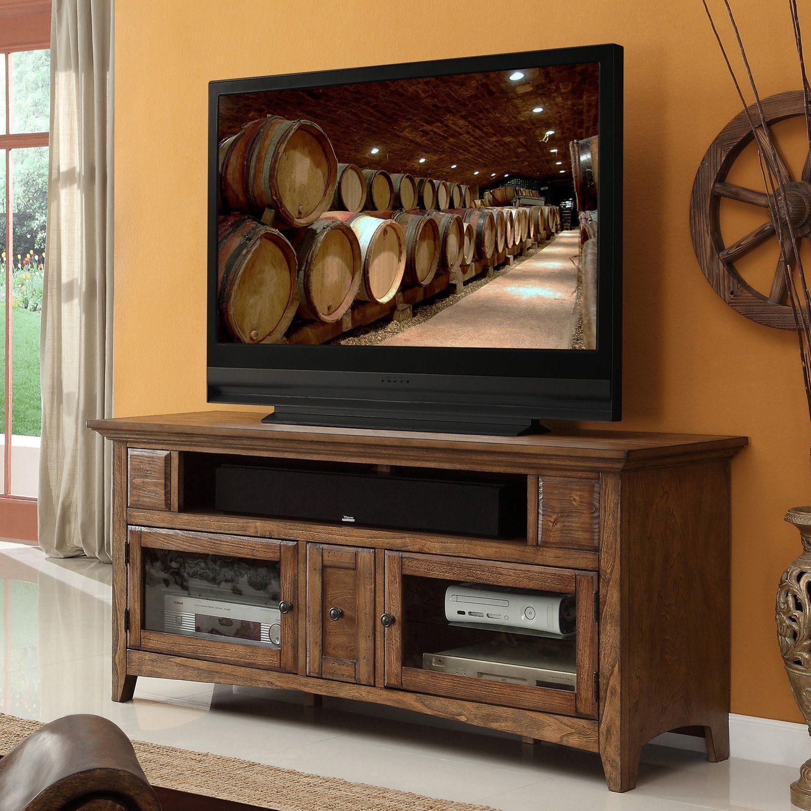 legends vineyard 62 in media console reclaimed www hayneedle rh pinterest com au