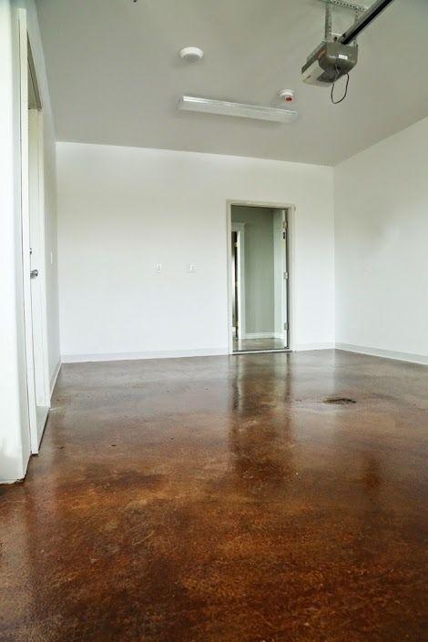 staining and finishing concrete floors ana white diy pinterest rh pinterest com