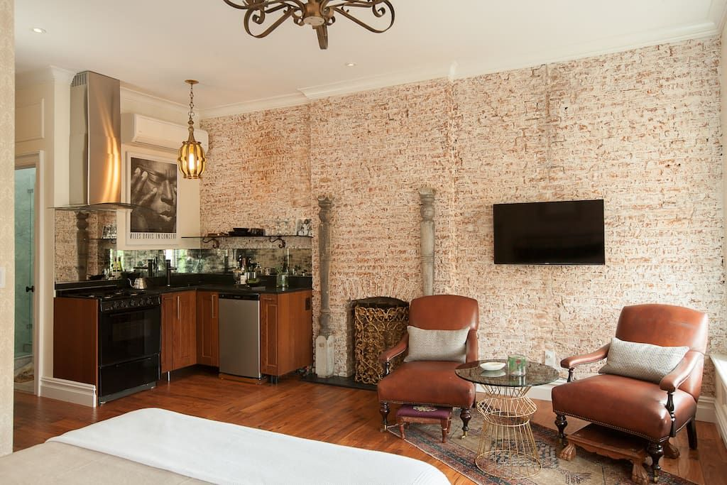 Check out this awesome listing on Airbnb: Luxury 1 Bedroom suite-Brownstone.. - Houses for Rent in New York