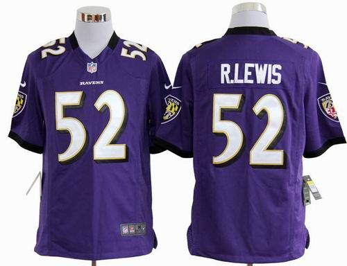 new arrivals 00603 aa85f purple Ray Lewis game 2012 NFL Baltimore Ravens #52 Jersey ...