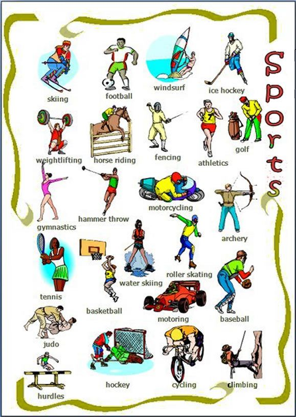 List of Sport in Spanish