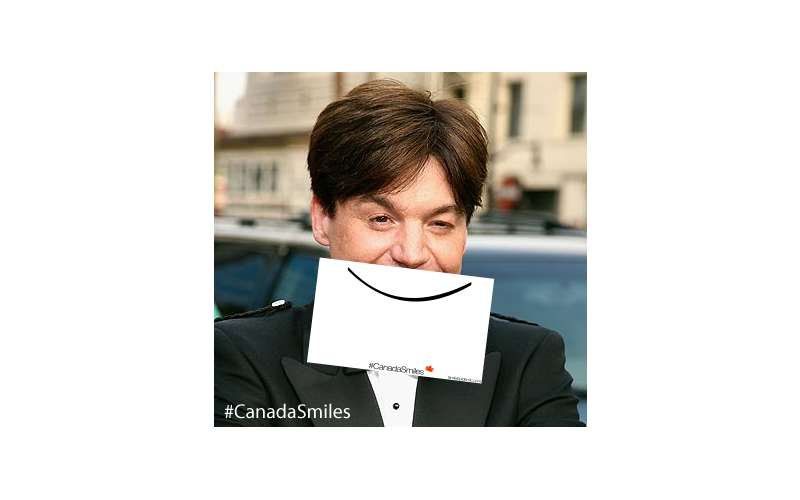 Fun game for our CanadaSmiles campaign. Fill in the blank