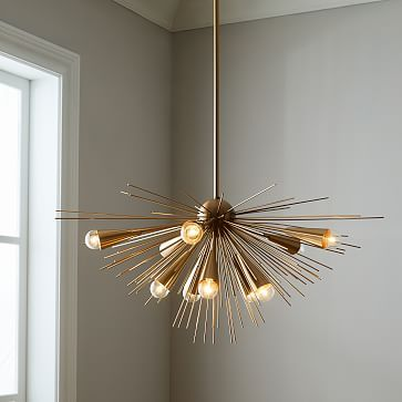 sputnik chandelier brass lighting and illumination pinterest rh pinterest com