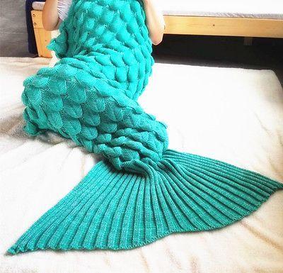 Super Soft Hand Crocheted Mermaid Tail Blanket Sofa Blanket ADULT 19590 cm https://t.co/6KTECn3cc2 https://t.co/rHboqN3rMF