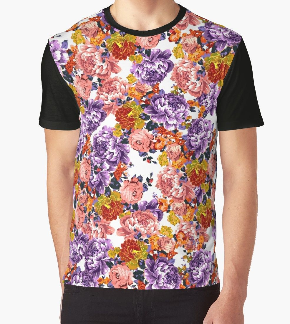 flower t shirt dress