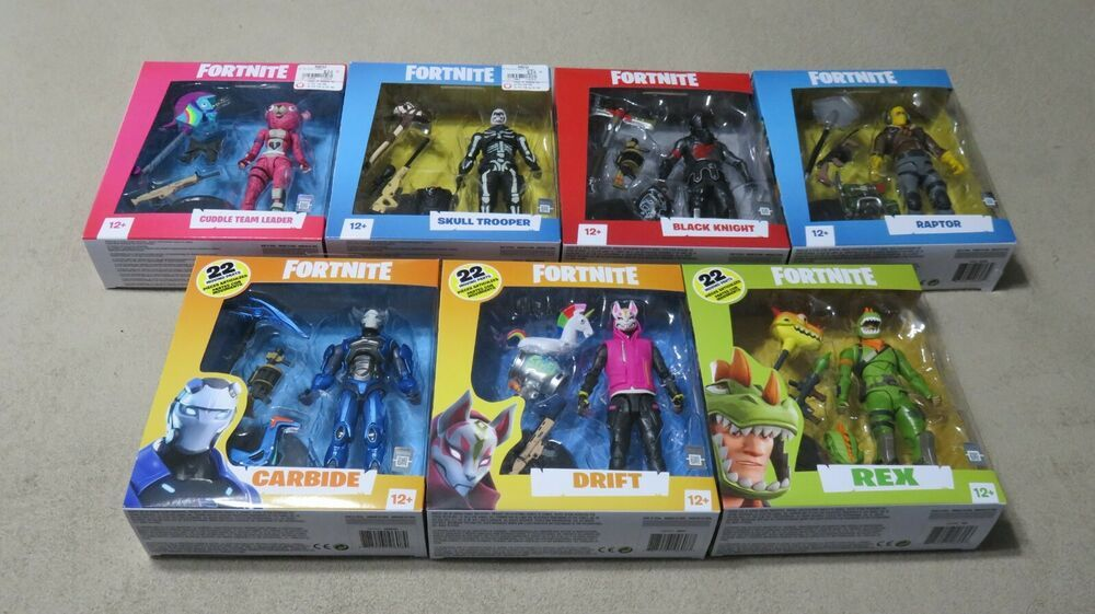 Mcfarlane Toys 2019 Fortnite 7 Inch Action Figures Displayed Only